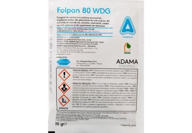 Folpan 80 WDG, 15 g