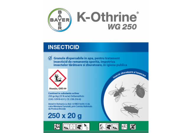 Insecticid K-Othrine WG 250, 20g, Bayer