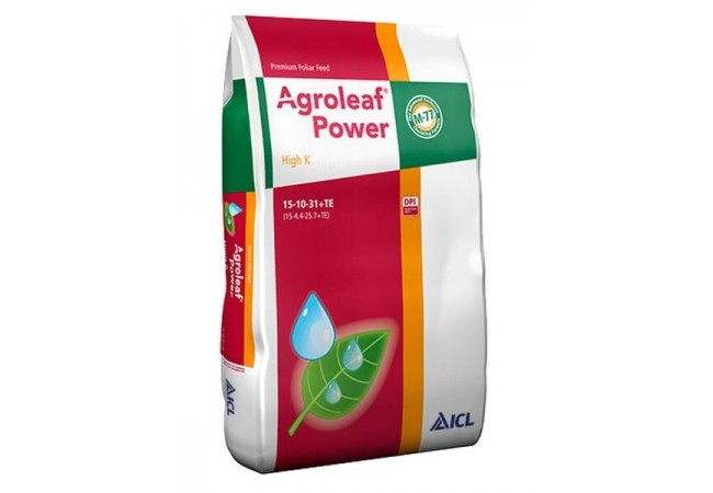 Agroleaf Power High K 15+10+31+TE+Biostimulator
