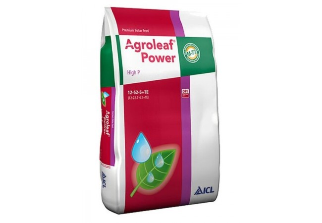 Agroleaf Power High P 12+52+05+TE+Biostimulator