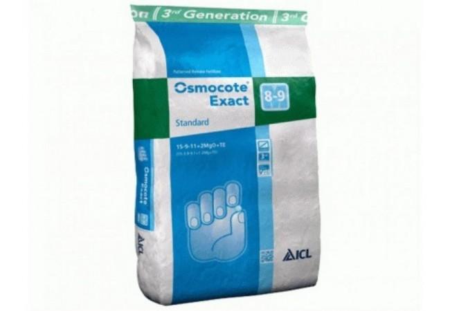 Ingrasamant profesional, 25 kg, Osmocote Exact DCT - Protect Nou 12+07+19+2 Mg+ME - 8 - 9 luni